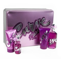 LIZ CLAIBORNE Curve Crush 3.4 oz EDT 4 Piece Gift Set for woman