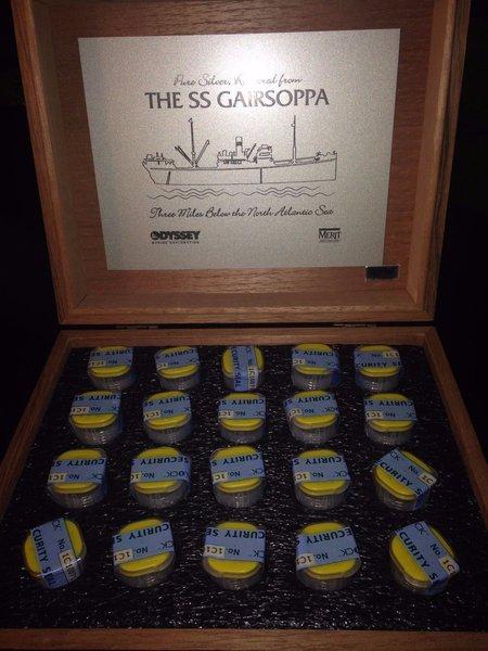 2013 Royal British Mint S S Gairsoppa Britannia 1 4