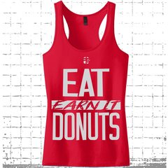 Fit Bitch Racerback Tank - Eat Donuts