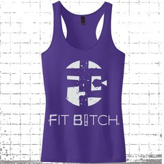 Fit Bitch Racerback Tank - Original
