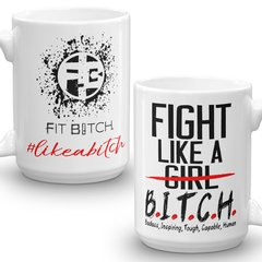 Mug - Fight Like A Bitch