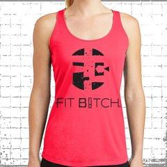 FB Logo - Fit Bitch Dry Wear Racerback