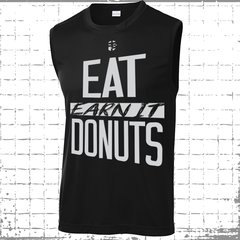 Men's Eat Donuts - Muscle Tank - Ultra Performance