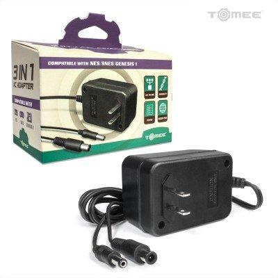Heavy Duty SNES/ Genesis/ NES 3-in-1 Universal AC Adapter