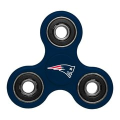 NEW ENGLAND PATRIOTS NFL THREE WAY TEAM FIDGET SPINNER..IN HAND SHIPPING