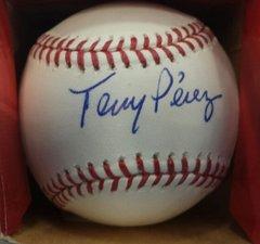 Cincinnati Reds Tony Perez Official MLB Baseball Autographed