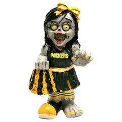 Green Bay Packers Cheerleader Zombie Figurine NFL