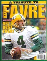 Green Bay Packers Brett Favre A Tribute to Favre Magazine