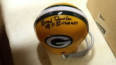 Green Bay Packers Boyd Dowler Mini Helmet Autographed