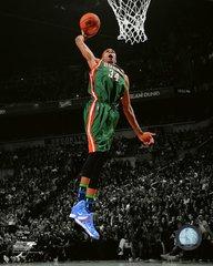 Milwaukee Bucks Giannis Antetokounmpo 16x20 Canvas Dunking #3