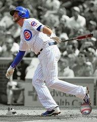 Chicago Cubs Kris Bryant 16x20 Colorized Canvas