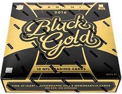 2016 Black Gold Football Hobby Factory Sealed Box 6 HITS!!