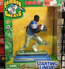 Detriot Lions Barry Sanders Gridiron Greats Figure