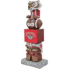 Wisconsin Badgers NCAA Tiki Totem