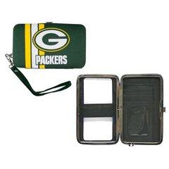 Green Bay Packers Shell Wristlet Wallet/Purse