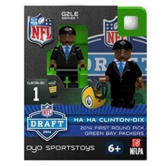 Green Bay Packers HAHA Clinton Dix OYO Figure Gen 2 Series 1 DRAFT DAY