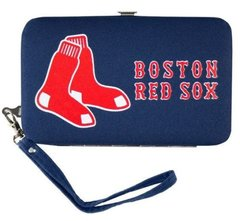 Boston Red Sox Shell Wristlet Wallet/Purse