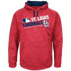 Men's St. Louis Cardinals Authentic Collection Team Choice Streak Hoodie