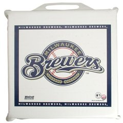 Milwaukee Brewers MLB Seat Cushion M Logo