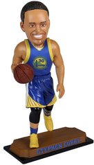 Golden State Warriors Stephen Curry Real Jersey Bobblehead