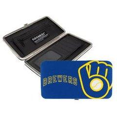 Milwaukee Brewers Shell Wristlet Wallet/Purse