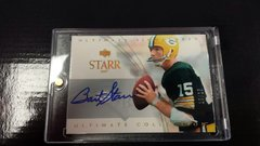 Green Bay Packers Bart Starr UD Ultimate Collection Ultimate Signatures auto 18/25