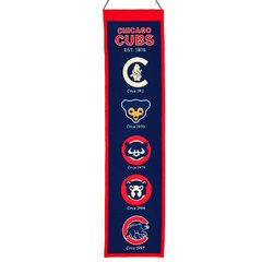 Chicago Cubs MLB Heritage Banner