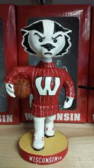Wisconsin Badgers Basketball Bobblehead Bucky