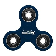 SEATTLE SEAHAWKS NFL THREE WAY TEAM FIDGET SPINNER.