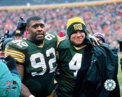 Green Bay Packers Reggie White/Brett Favre Canvas