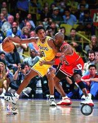 Kobe Bryant & Michael Jordan Classic 16x20 Canvas