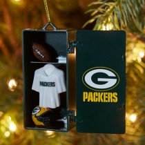 Green Bay Packers Locker Ornament NFL