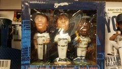 Milwaukee Brewers Aaron/Sexson/Sheets SGA Bobblehead