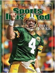 Green Bay Packers Brett Favre Sports Illustrated Magazine Special Tribute