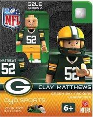 Green Bay Packers Clay Matthews OYO Figure Gen 2 Series 2