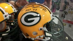 Green Bay Packers Forrest Gregg HOF Autographed Mini Helmet
