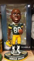 Green Bay Packers Donald Driver Exclusive Bobblehead
