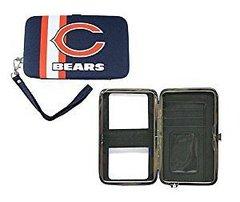 Chicago Bears Shell Wristlet Wallet/Purse