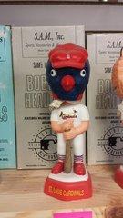 SAM SAM's St. Louis Cardinals Mascot Bobblehead