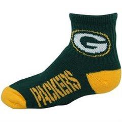 Green Bay Packers F12 Quarter Sock NFL