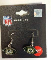 Green Bay Packers Super Bowl XLV Dangle Earrings