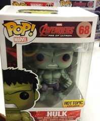 FUNKO POP MARVEL AVENGERS AGE OF ULTRON HULK HOT TOPIC 68