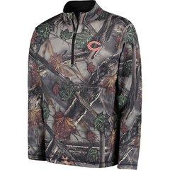 "Chicago Bears ""The Woods"" NFL Camo Long Sleeve Shirt 1/4 Zip"