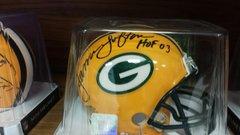 Green Bay Packers James Lofton Autographed Mini Helmet