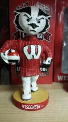 Wisconsin Badgers Volleyball Bobblehead Bucky