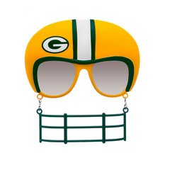 GREEN BAY PACKERS NOVELTY SHADES SUNGLASSES FACEMASK!!