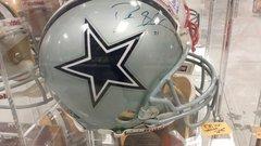 Dallas Cowboys Deion Sanders Autographed Full Size Authentic Helmet