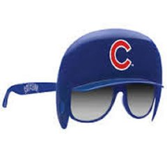 Chicago Cubs Helmet and Sunglasses Game Shades