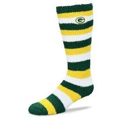 Green Bay Packers Pro Stripe Sleep Soft Tube Socks Women's