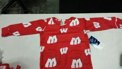 Wisconsin Badgers 2 Piece Sleep GIRLS TODDLERS